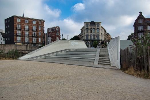 Verboekhoven Square Footbridge