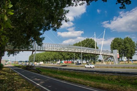 Passerelle de l'aire de Nieuwegein