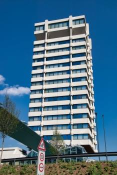 Büroturm der Stadtsparkasse Wuppertal