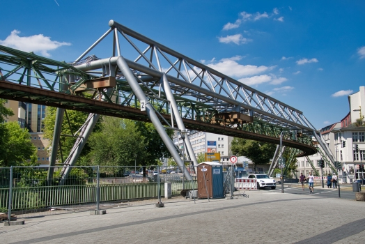 Bembergstrasse Suspended Monorail Superstructure