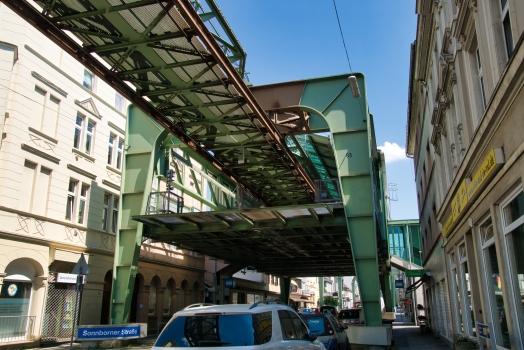 Schwebebahnstation Sonnborner Straße