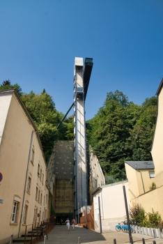 Aufzug Pfaffenthal