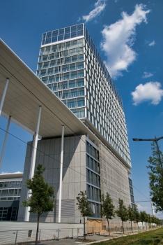 Erweiterung des Konrad-Adenauer-Baus