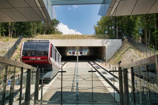 Pfaffenthal-Kirchberg Funicular
