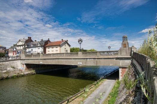 Brücke über den Kanal von Saint-Quentin