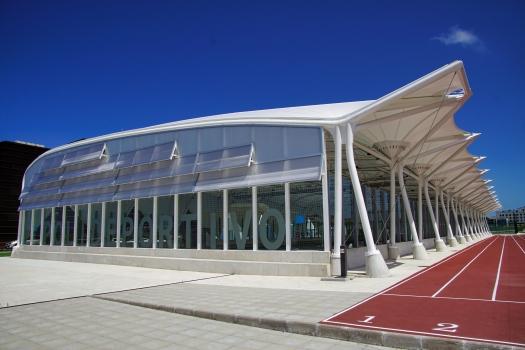 Gymnasium of the Universidad Europea del Atlántico