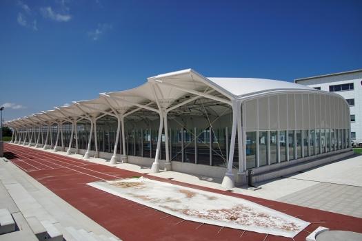 Sporthalle der Universidad Europea del Atlántico
