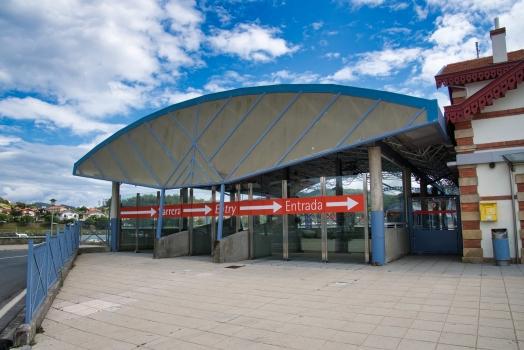 Metrobahnhof Plentzia