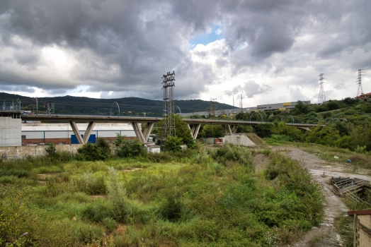 Nervión River Metro Viaduct