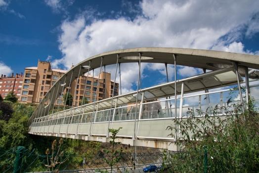 Footbridge over A-8