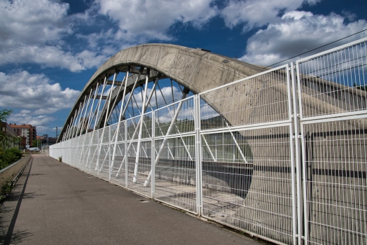 Pont ferroviaire sur le Nervión