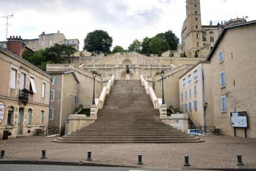 Monumentale Treppe von Auch