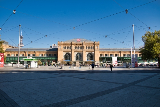 Gare centrale de Hanovre
