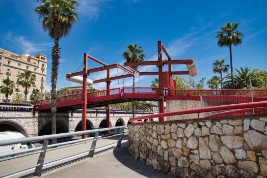 Geh- und Radwegbrücke über die Ronda Litoral (II)