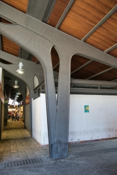 La Boqueria Market Hall