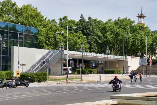Fußgängerbrücken Montjuïc