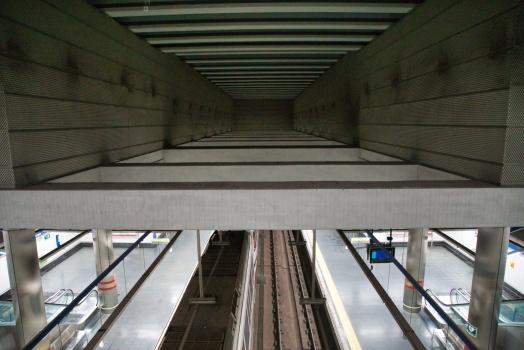 Metrobahnhof Barajas