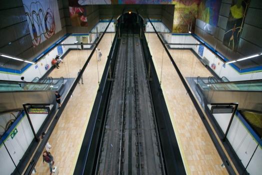 Metrobahnhof Alameda de Osuna