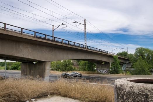 Río Manzanares Rail Bridge