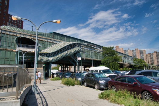 West Eighth Street - New York Aquarium Subway Station (Brighton Line)