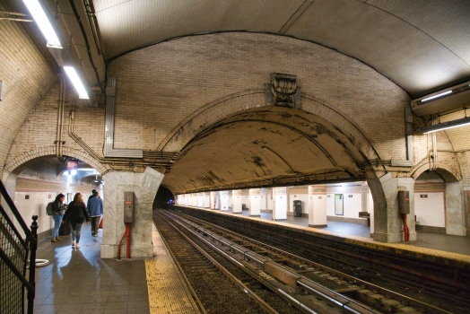 181st Street Subway Station (Broadway – Seventh Avenue Line)