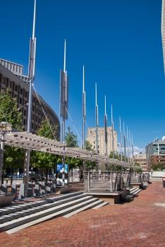 City Hall Plaza Pergola