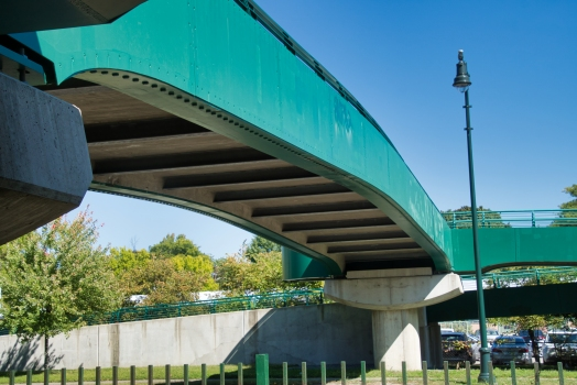 Memorial Drive Footbridge
