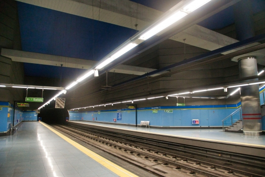 Station de métro Casa del Reloj