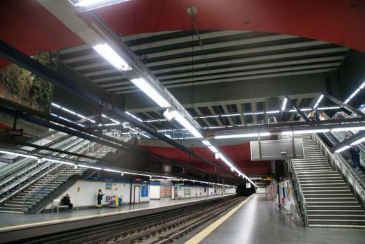 Station de métro Puerta del Sur