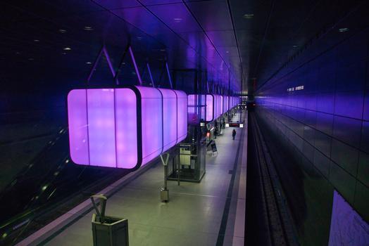 Station de métro HafenCity Universität