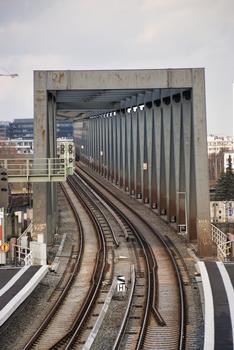 Pont de la S-Bahn sur le Billhafen