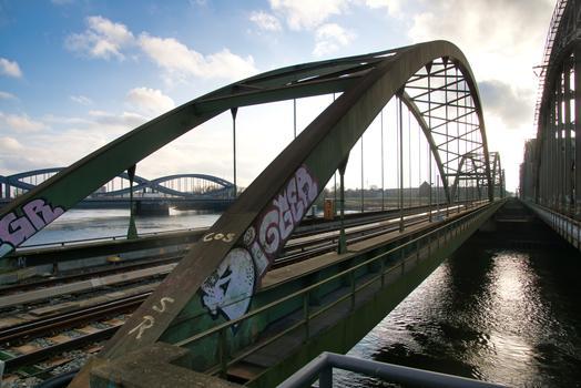 Pont de la S-Bahn sur la Norderelbe