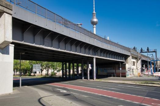Stralauer Strasse Rail Overpass