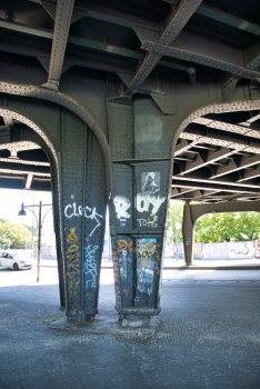 Brückenstrasse Rail Overpass