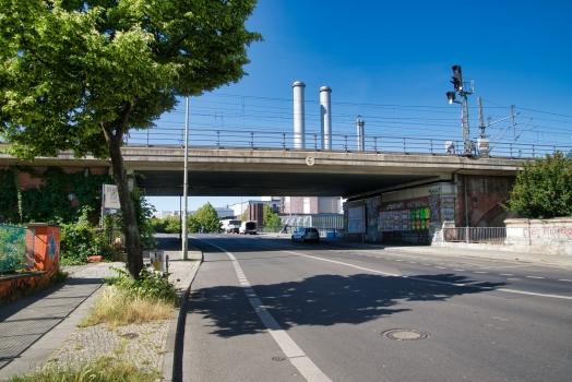 Passage ferroviaire supérieure de la Michaelbrücke