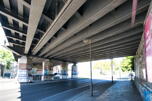 Holzmarktstrasse Rail Overpass