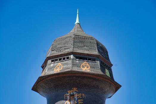 Wasserturm am S-Bahnhof Ostkreuz