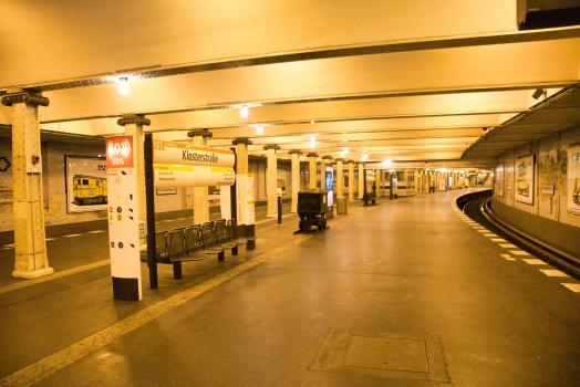 Station de métro Klosterstraße