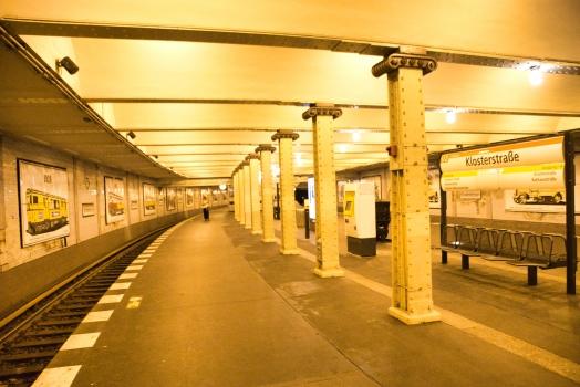 Klosterstraße Metro Station