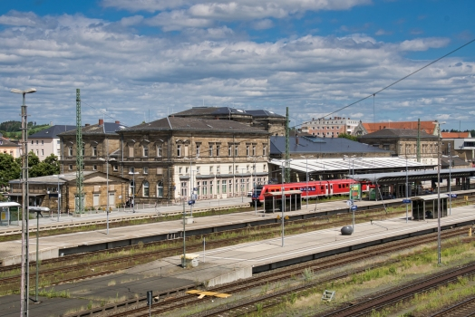 Gare centrale de Hof