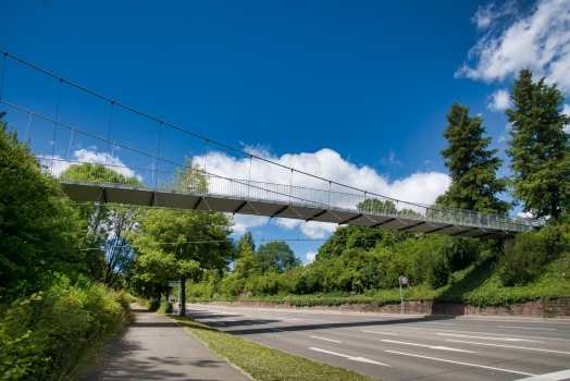 Geh- und Radwegbrücke am Kochenhof