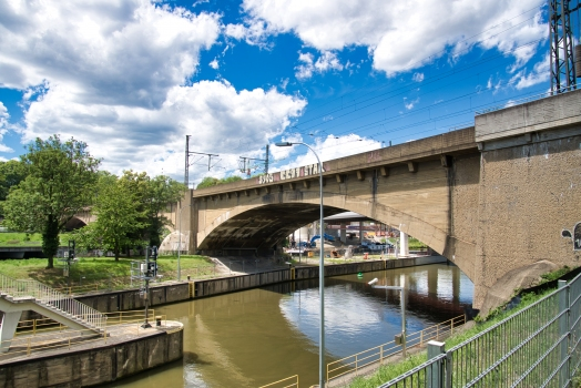 Pont-rail de Bad Cannstatt