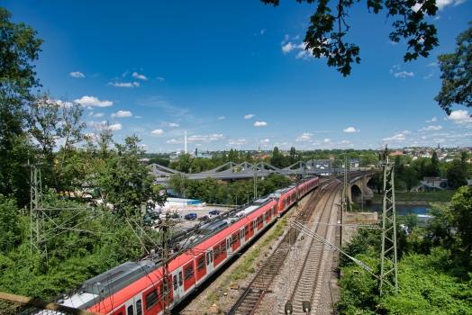 Pont ferroviaire de Bad Cannstatt