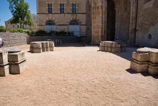 Troisième église de l'abbaye de Cluny