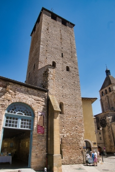 Tour des Fromages de la Clôture de l'abbaye de Cluny