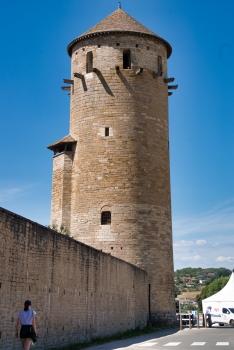Tour Ronde de la Clôture de l'abbaye de Cluny