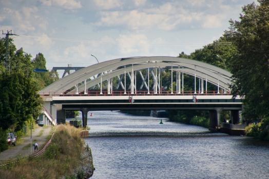 Fernbahnbrücke über den Teltowkanal (Görlitzer Bahn)