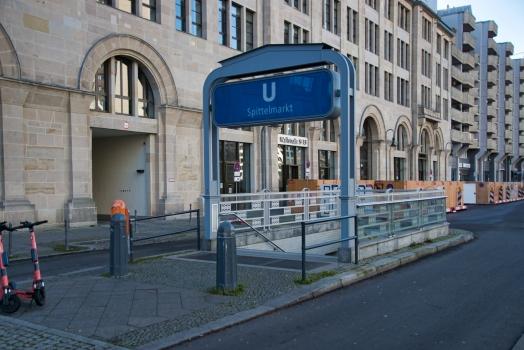 U-Bahnhof Spittelmarkt
