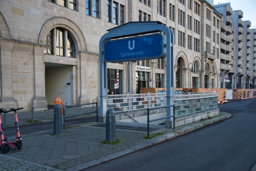 Station de métro Spittelmarkt
