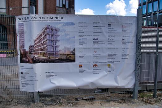Neubau am Postbahnhof